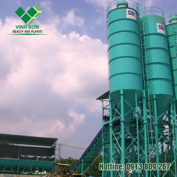 Trạm Trộn Bê Tông - Batching Plant 120m3/h