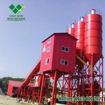 Trạm Trộn Bê Tông - Batching Plant 90m3/h