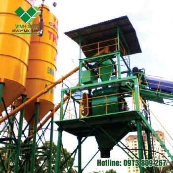Trạm Trộn Bê Tông - Batching Plant 180m3/h